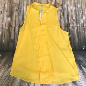 Stitch Fix 41 Hawthorn Yellow Breyson Blouse Small